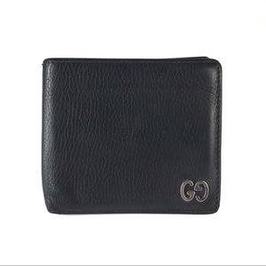 GUCCI Leather GG Bifold Wallet